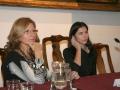 Elena Hormigo y Cynhia Young