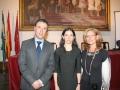Rafael Cid, Cynthia Young y Elena Hormigo