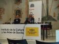 Rafael Cid (AAPID) con Francisco José Alarcos (UGR)