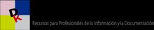 Logotipo de Dokumentalistas, recursos para profesionales de la Información y la Documentación
