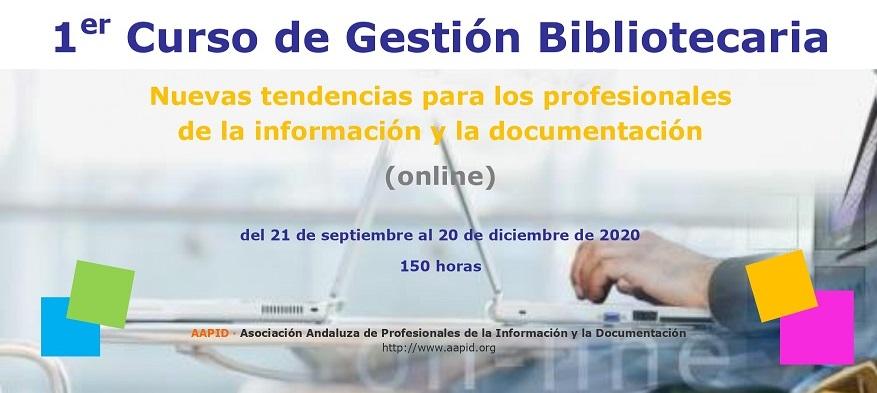 1er Curso de Gestión Bibliotearia (online)