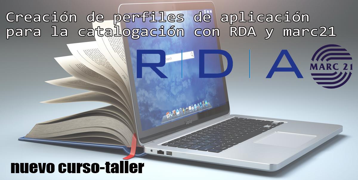 Curso-Taller para la creación de perfiles de aplicación de RDA