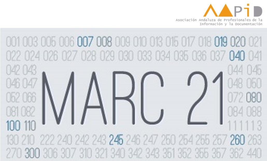 Curso avanzado de catalogación con Formato MARC21